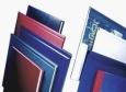SOFT-COVER Buchbindemappe A4, 106-140 Blatt, VE 10 Stück, weiß