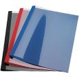 Thermobindemappe Lederprägung A4 / 1,5 mm für 10-15 Blatt / VE 100 Stück, mit Schlitzstanzung für Ibilfile Abheftzungen