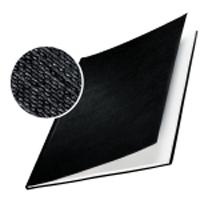 HARD-COVER Buchbindemappe A5, schwarz, VE 10 Stück,  10-40 Blatt 5-7mm