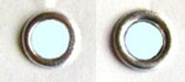 Metallösen für DUO 20 Premium, Ø 6mm,  VE von 100 bis 200 Stück je nach Ösengröße