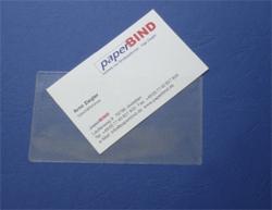 Paperbind Shop Visitenkartentaschen Selbstklebend 110 X 60