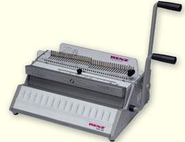 DAS MEISTVERKAUFTE! Drahtbindegerät RENZ SRW 360, A4+A5, kombi.Handstanz-u. Schließmaschine für Drahtbindung,