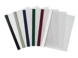 Folie/Rand Leder,leinen, chromo, FRONTDECKEL für Surebind/Stripbindungen