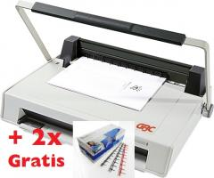 Original GBC-SureBind System One-bis 250 Blatt,Stanz-u.Binde- gerät f. Stripbindung, inkl.2x100 Stck.Kämme GRATIS,FREI HAUS