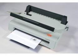 Original GBC-SureBind System One-bis 250 Blatt,Stanz-u.Binde- gerät f. Stripbindung, inkl.100 Stck.Kämme GRATIS,FREI HAUS