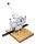 Hang Piccolo D Doppelösapparat für Handbetrieb, max. 50 Blatt vorgelocht