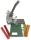 Wachspapierstreifen für Ösgeräte , VE 25 Streifen